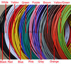 24AWG OD_1.4mm UL1007 PVC Tinned Copper Stranded Wire Cable Cord 300V 2M/10M