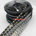 5M 300/600LED 120led/M Double single 5050 RGBW RGB WW Flex LED light Black PCB