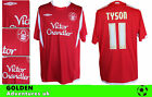 *09 / 10  - UMBRO ; NOTTINGHAM FOREST  HOME  SHIRT SS / TYSON 11 = SIZE*
