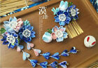 hand made hairpin cotton cloth hair clip Japanese anime cosplay accessories  B4