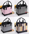 Korean Style Striped Oxford Lunch Bag Casual Storage Bag Cute Tote  Handbag