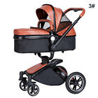 2 in 1 Baby Stroller Newborn Carriage Infant Travel Car Foldable Pram Pushchair