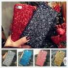 For iPhone X 5S 6S 7 8 Plus Luxury Bling Glitter Sparkle Hard Phone Case Cover
