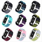 Fitbit Charge 2 HR Bands, Replacement Perforated Wristband Fitness *New Edition*