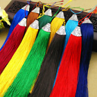 "19 colours 6""1/2 (17cm) Fashion Long Tassel Fringe Silver Cap Tassel Trim (B2)"