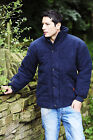 Bronte Mens Moleskin Jacket Quilted Padded Jacket Country Style Jacket