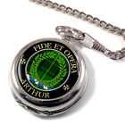 Arthur Scottish Clan Pocket Watch