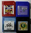 GBA & GBC Pokemon, Trip World, Shantae , Mario, Kirby *Reproduction Cart*