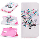 Wallet Magnetic Pattern PU Leather Flip Retro Painted Case Cover For Smartphone