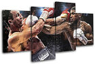 Boxing Joshua Klitschko Grunge Sports MULTI CANVAS WALL ART Picture Print