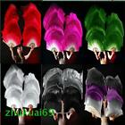 1 pair 15m 18m long belly dance 100silk fan veil 6 colors+Gift Free shipping