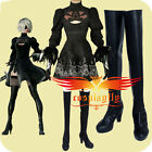 NieR: Automata 2B Cosplay Costume With Shoes YoRHa No. 2 Type B Custom Size