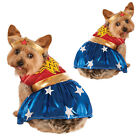 Rubies Official Wonder Woman Dog Fancy Dress Costume Pet Puppy Superhero Outfit