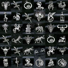 Wholesale Vintage Tibet Silver Owl Wings Animals Pendant Charms Jewelry Findings