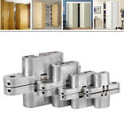 Invisible Cross Hinge Hidden Concealed Cabinet Cupboard Door Wooden Boxes New