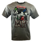 Men's T-shirt DISNEY FLORIDA 2017 Mickey Mouse Friends Classic B&W Comic Cartoon