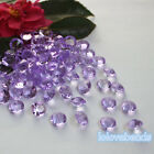 10mm 4CT  Lavender Acrylic Diamond Confetti Wedding Party Crystal Table Scatters