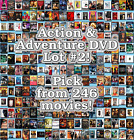 Action & Adventure DVD Lot #2: 246 Movies to Pick From! Buy Multiple And Save! $1.99 USD