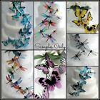 20 Pack Butterfly or Dragonfly Wedding Cake Toppers - 7 choices