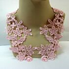 Pale Pink Lace Applique #66 Tutu Dance CostumeTrim