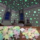 40/100pcs Wall Stickers Home Decor Glow In The Dark Star Sticker Kids Room Decor