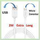 2M / Micro USB Data Sync Charging Cable For Samsung Glaxy S6, S6 Plus & S6 Edge
