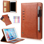 """Smart Leather Wallet Flip Card Slots Stand Case Cover For iPad 9.7"""" 2017 / Air 2"""
