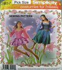 Simplicity Sewing Pattern 2857 Ladies 6-12 Fairy Ballet Demi Dance Costume