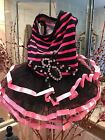 Dog Clothes Small Dress Pink Rhinestones Tutu Skirt Couture for Small Dogs New