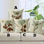 Modern Elegant Floral Design Cushion Pillow Case Cover - Free Shipping - NEW