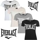 @@TOP PROMO 2017@@T-SHIRT EVERLAST LARGE LOGO CREW NECK FEMME - DU XS AU 3XL -