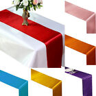 Newest Satin Table Runner Cloth Wedding Party Hotel Home Venue Decor Supplies