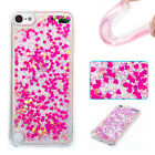 Glitter Quicksand Rubber Soft Tpu Gel Case Cover For Apple iPod Touch 5 5th/6 th