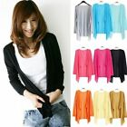 New Womens Long Sleeve Ladies Waterfall Cardigan Knitted Top Sweater Jacket Coat