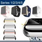 For Apple Watch Series 3/2 Slim Full Body Snap On Case+ Screen Protector 38/42mm