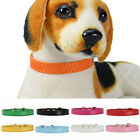 Pet Supplies Neck Necklace Pet Dog Collar PU Leather Neck Strap Kitten Chain