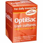 OptiBac 'For daily immunity' with Vitamin C - live cultures 30 caps