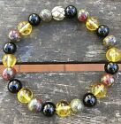 ॐCrystal Blissॐ Gemstone Bracelet Diabetes Citrine Bloodstone Healing Spiritual