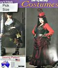 Simplicity Sewing Pattern 0788 Ladies 14-22 Victorian Steampunk Coplay Costume