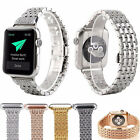 Rhinestone Diamond Stainless Steel Watch Strap for Apple Watch Band Series 3 2 1