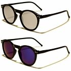 EYED Round Design Womens Mens Sunglasses Semi- Mirrored Lens 100%UV400 11015