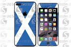 Scottish/Scotland Flag iPhone 5/5C/5S 6/6Plus 6S/6S Plus 7/7Plus Wrap Decal Skin