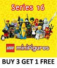 LEGO MINIFIGURES SERIES 16 71013 PICK CHOOSE THE ONES YOU NEED ALL 16 IN STOCK