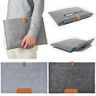 Wool Felt Sleeve Bag Carrying Case For 2016 Macbook Pro 13 15 With/out Touch Bar