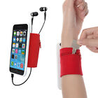 Sport Sweatband Wristband Forearm Band for Keys and Coins for iPhone 6 (Plus)/6s