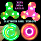 Bluetooth Fidget Hand Spinner Plays Music Charger Cable EDC Gyro Toy USA Seller
