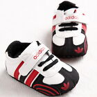 Black Infant Baby Shoes Boy Girl Soft Sole Sneaker Crib Shoes For 3-18month