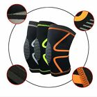 Men Sports Knee Wraps Protector Weight Lifting Pad Wraps Bandage Straps Guard on eBay
