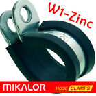 EPDM Rubber Lined P Clips |  Mikalor  | ZINC PLATED MILD STEEL W1 | P-Clip Clamp