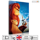 LARGE THE LIOK KING FILM DISNEY KIDS - STRETCHED CANVAS WALL ART PRINTS PICTURES